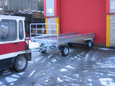 VIKING, FLATBED TRAILER