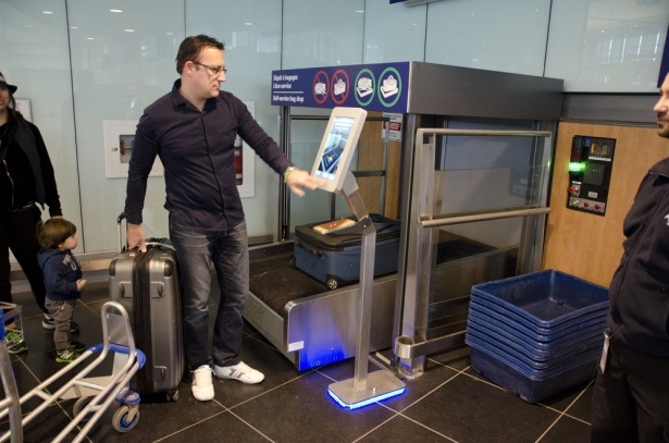 The newest system BAGXpress lite - for easy and convenient self-service baggage drop-off