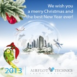 We wish you a merry Christmas and the best New Year ever